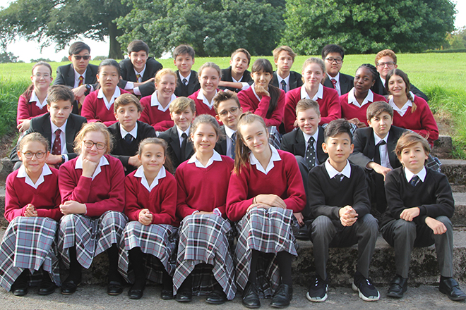 Downside School New Pupils