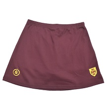 Maroon Hockey Skort