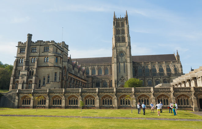 About Downside Abbey and School