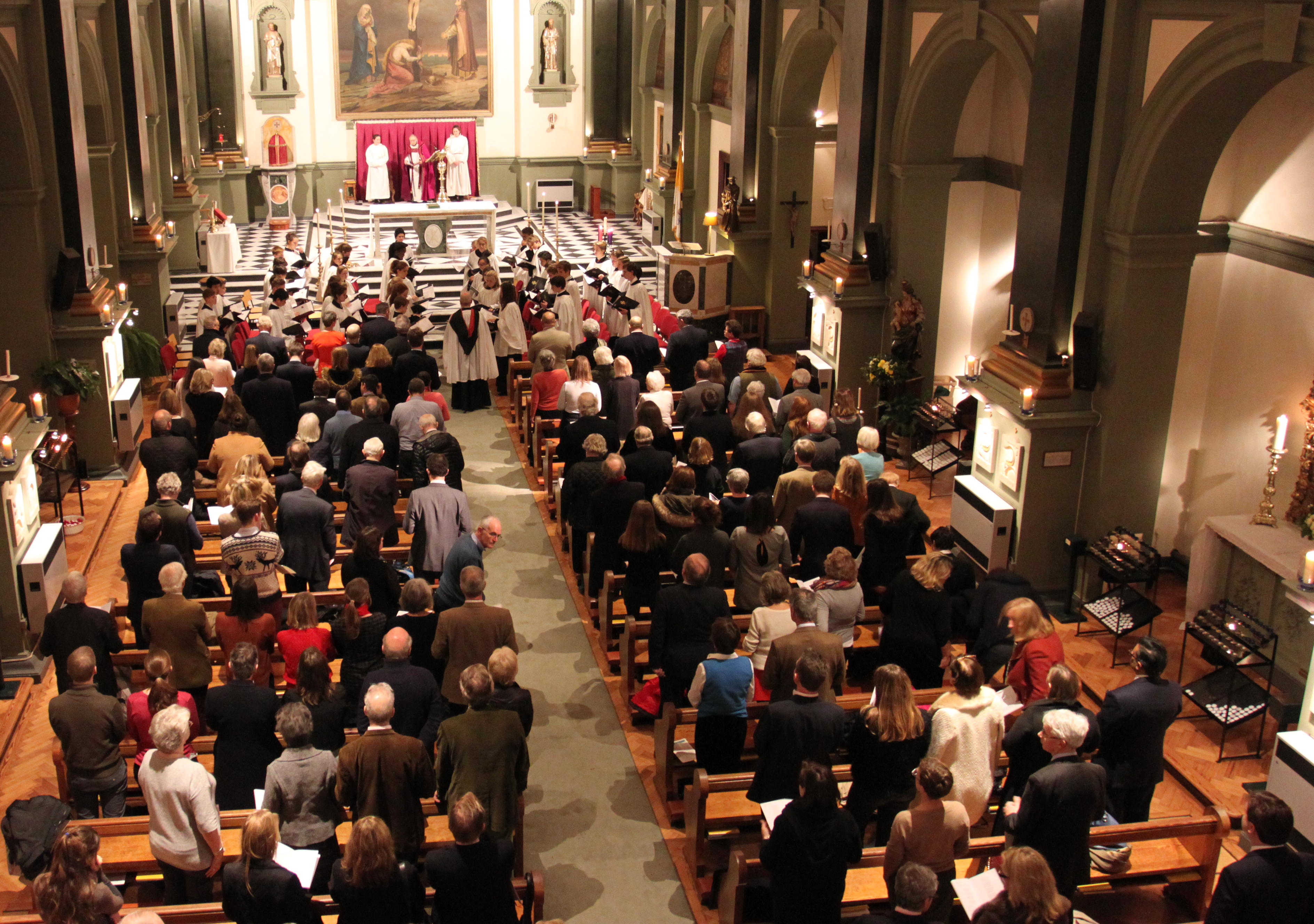 Downside London Carol Service