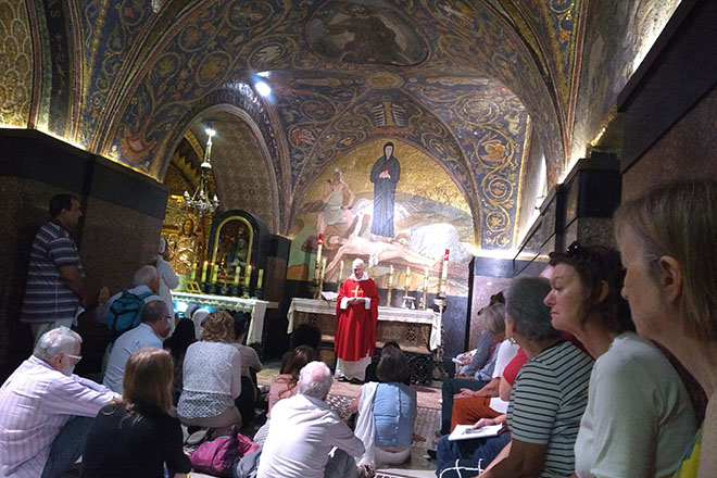 Downside School Successful Pilgrimage to the Holy Land