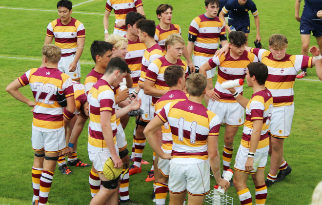 Boys Rugby XV at Super Saturday