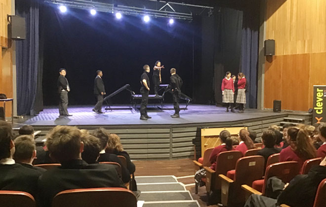 Downside School Box Clever Theatre Performing Arts