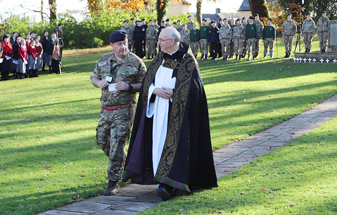 Downside Catholic School Remembrance Service