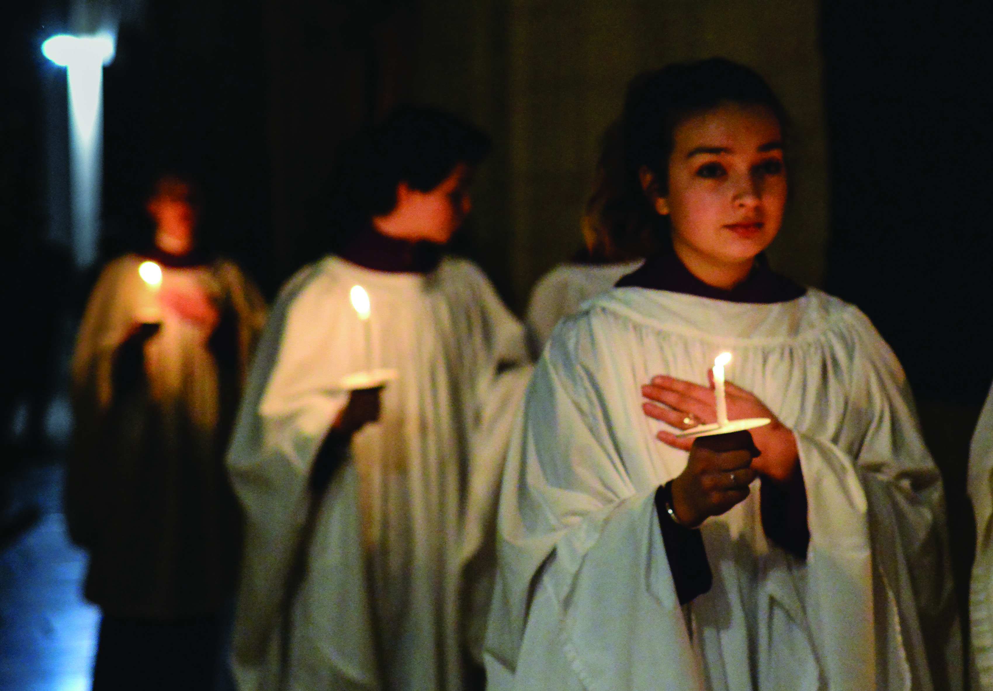 Christmas Service at Downside Abbey