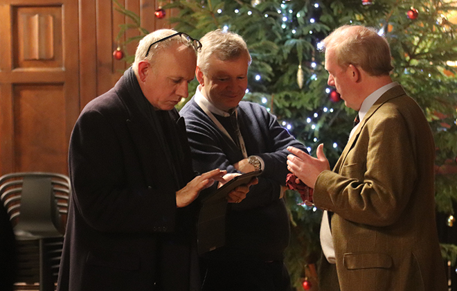 Downside School Epiphany Reception