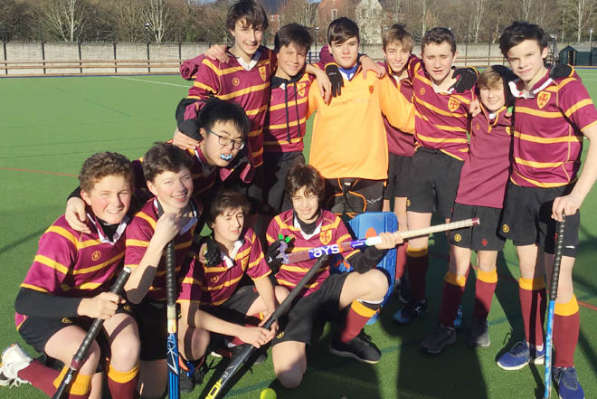 Downside school hockey