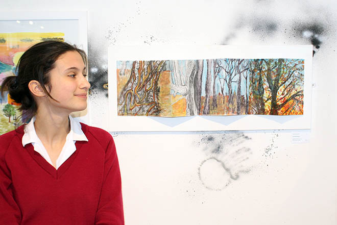 Downside Pupils Art Exhibition