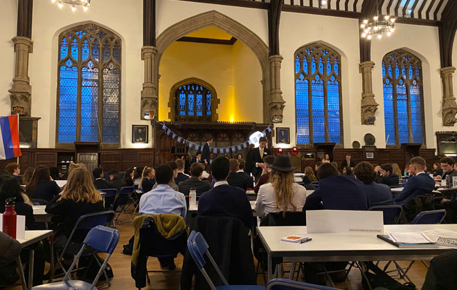 Downside Model United Nations 2020