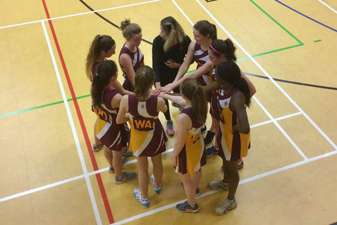 Downside school Netball