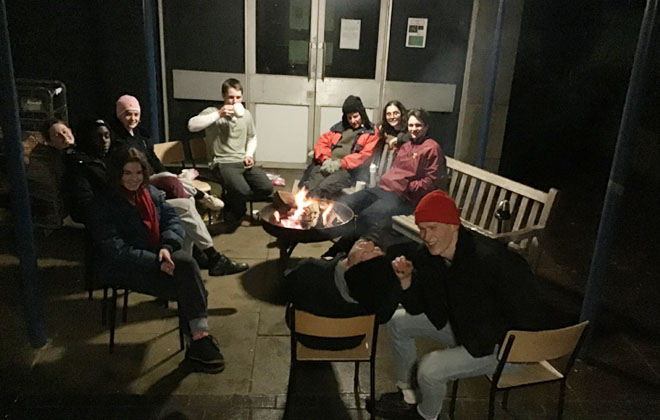 Downside School Charity Sleep Out Emmaus House