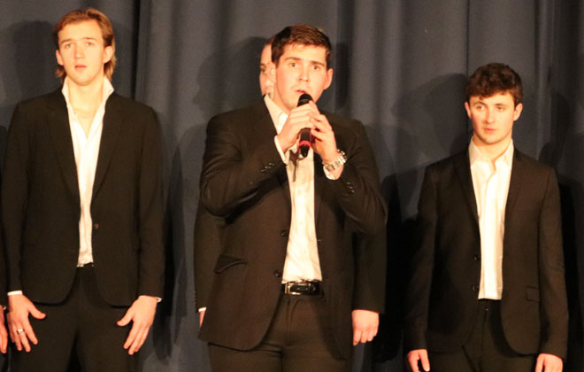 A cappella group The Other Guys Somerset