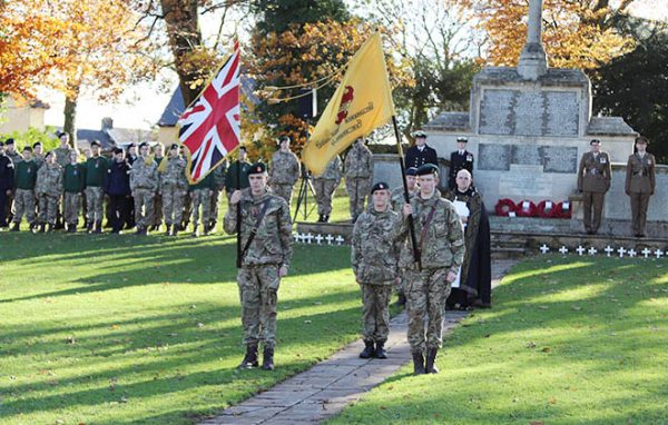 Remembrance Service Downside School