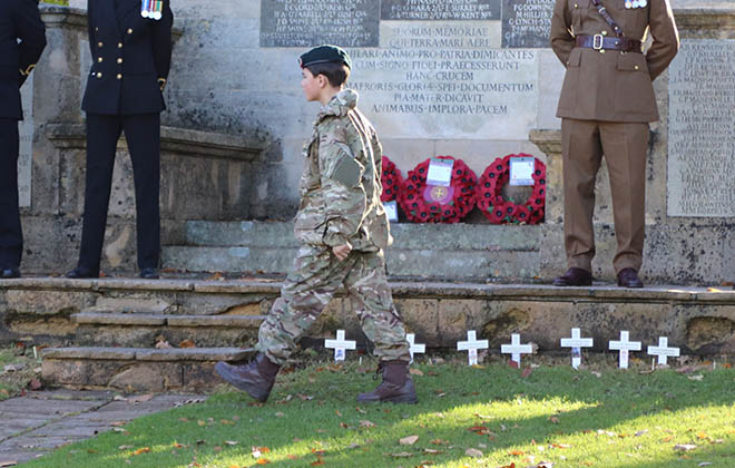 Downside School Remembrance Service