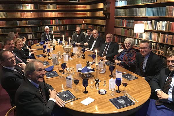 Old Gregorians Edinburgh dinner 2018