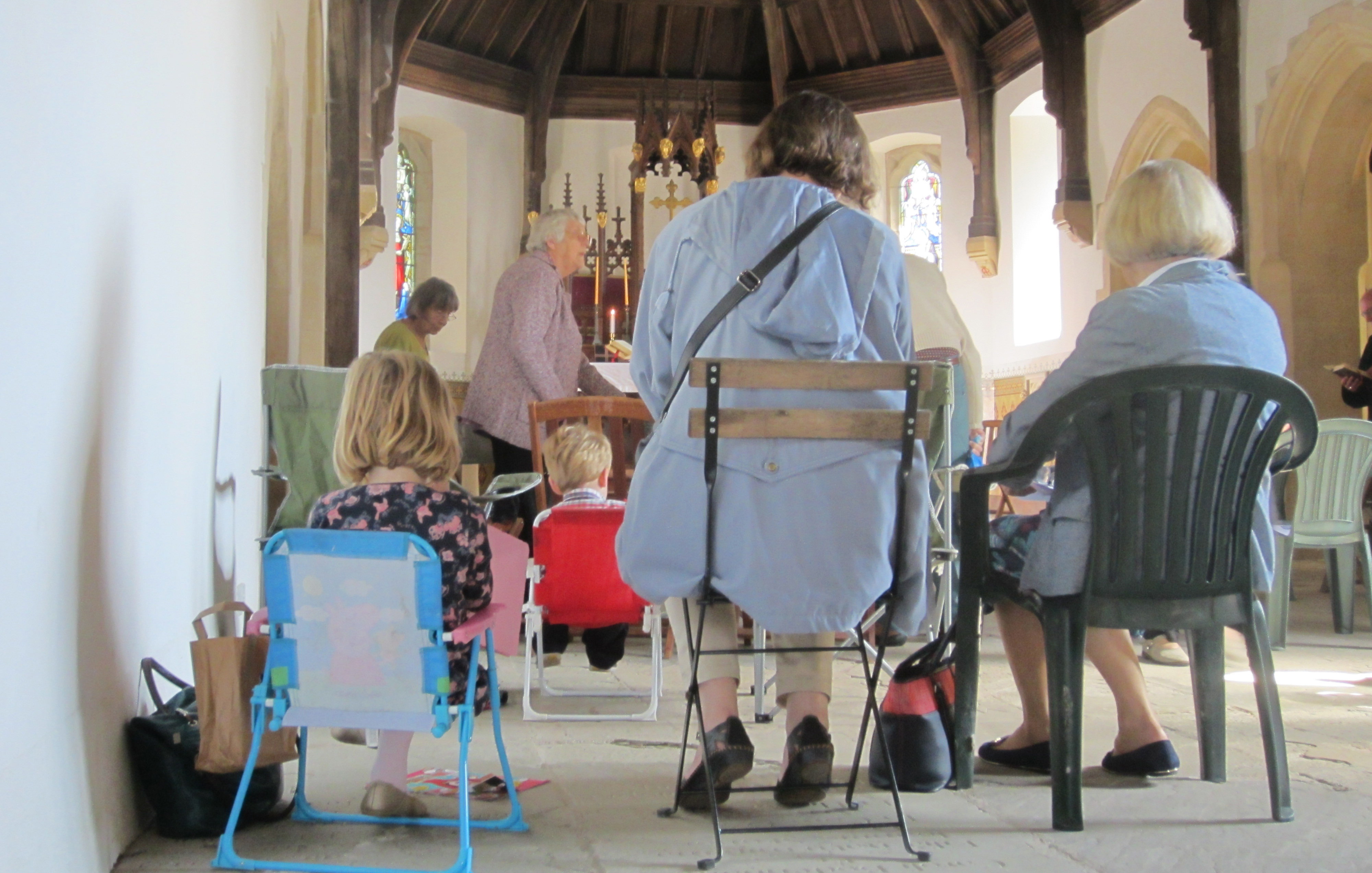 Mass in Rotherwas Chapel