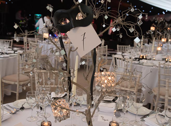 Table Number Parents' Association Masquerade Ball 2017