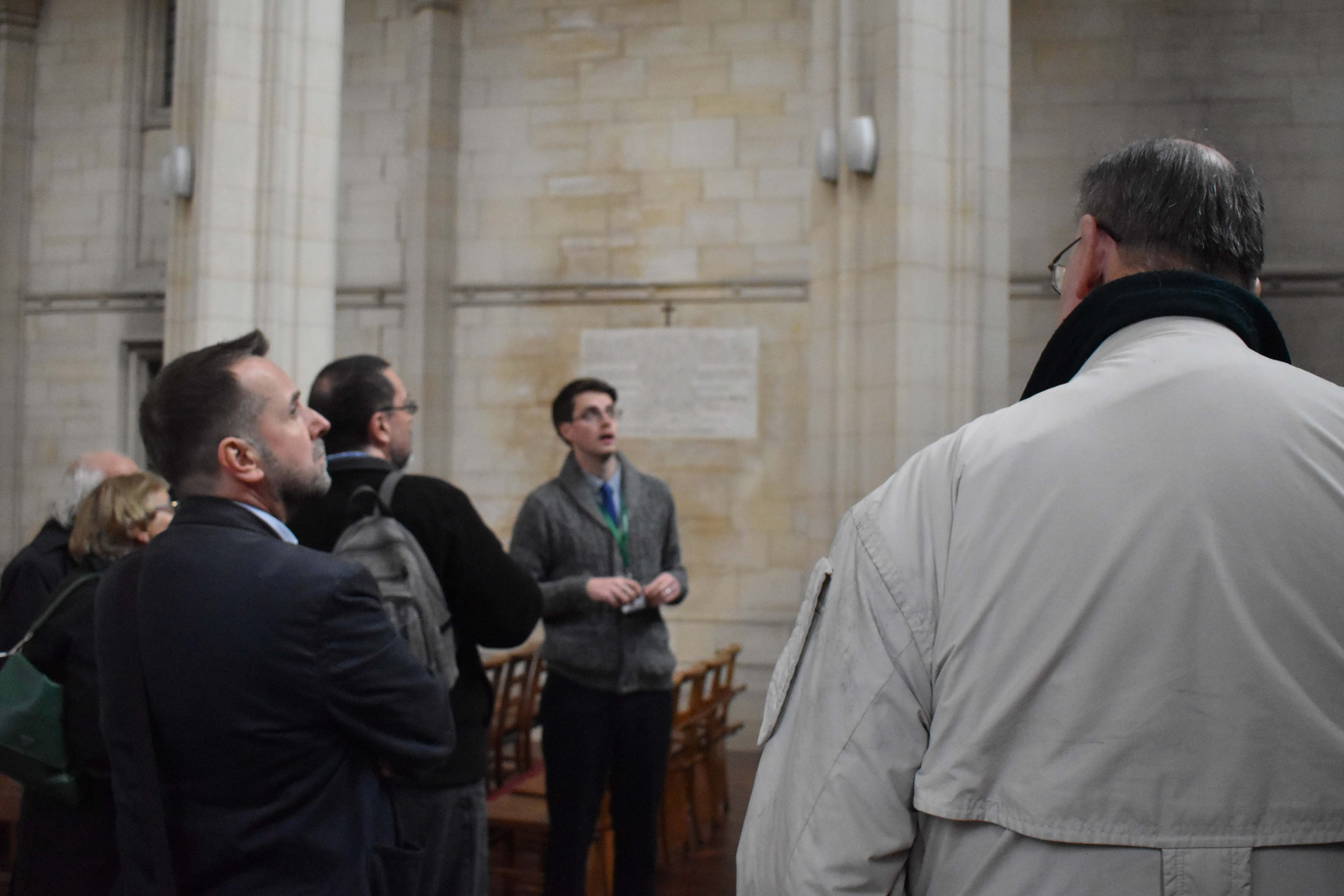 Downside Abbey Library Tour