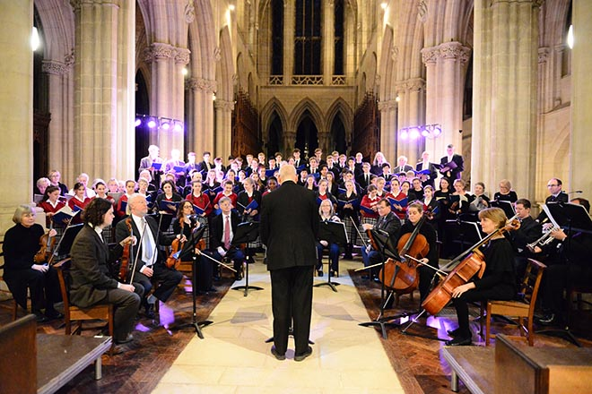 Downside School Pupils Present Choral Concert