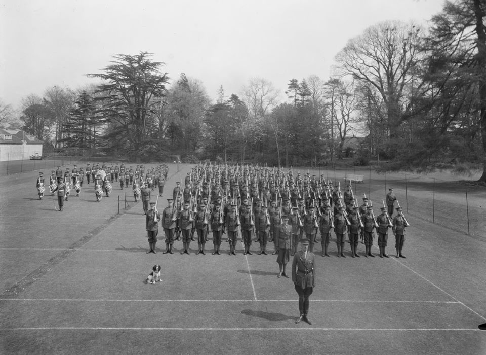 Downside Abbey 1933 Marching Drill