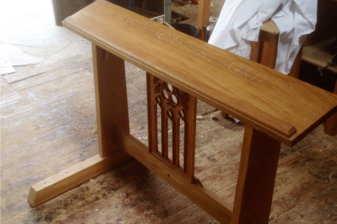 Canterbury Cathedral Furniture Project