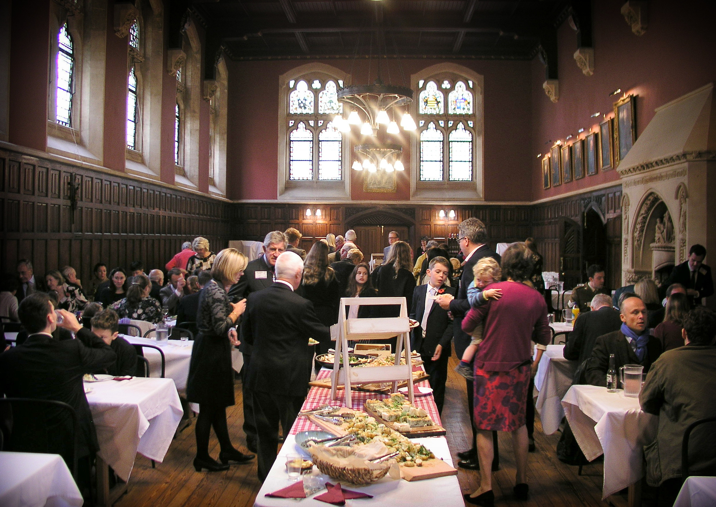 Family Gathering at Downside School