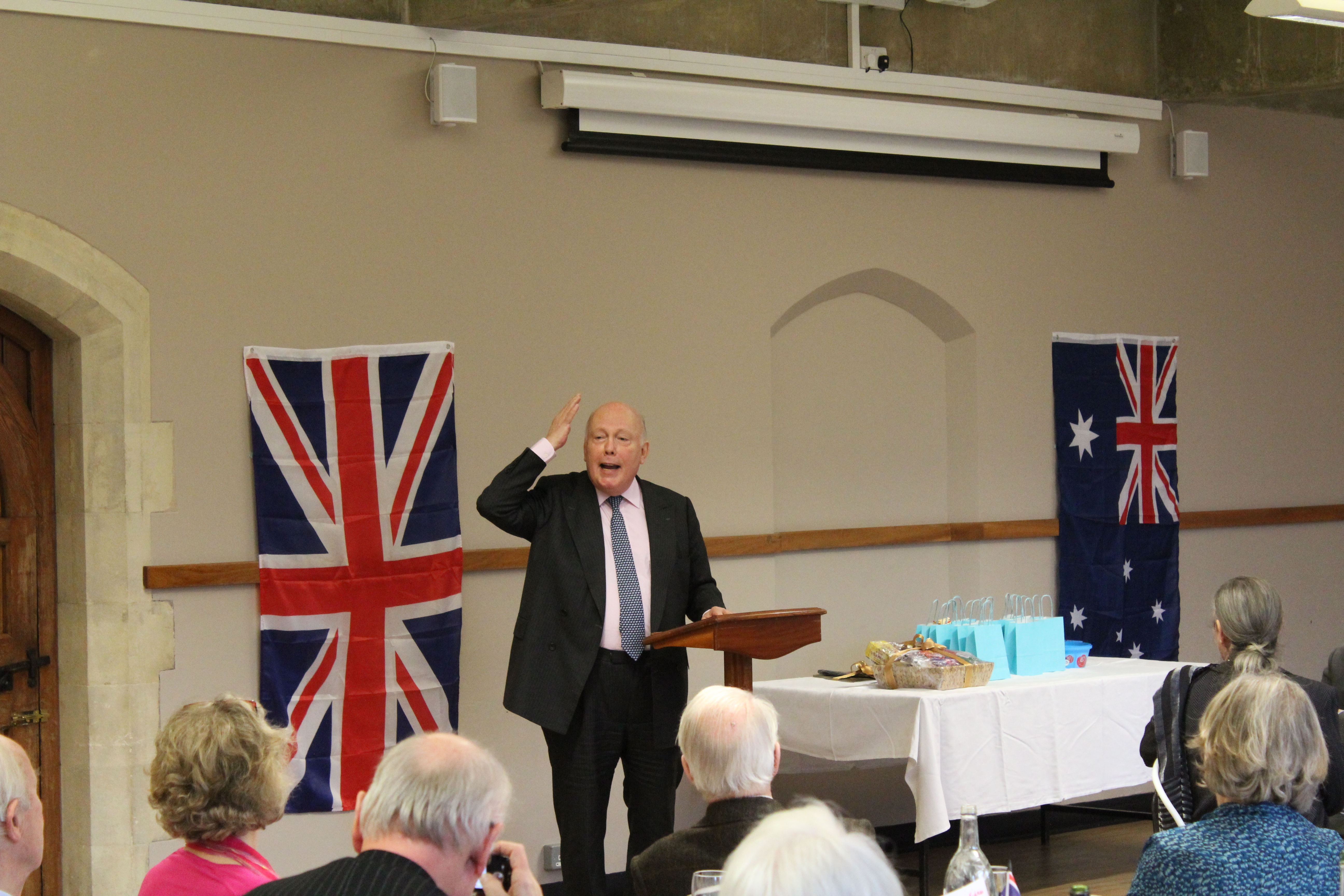 British Australian Society Speech