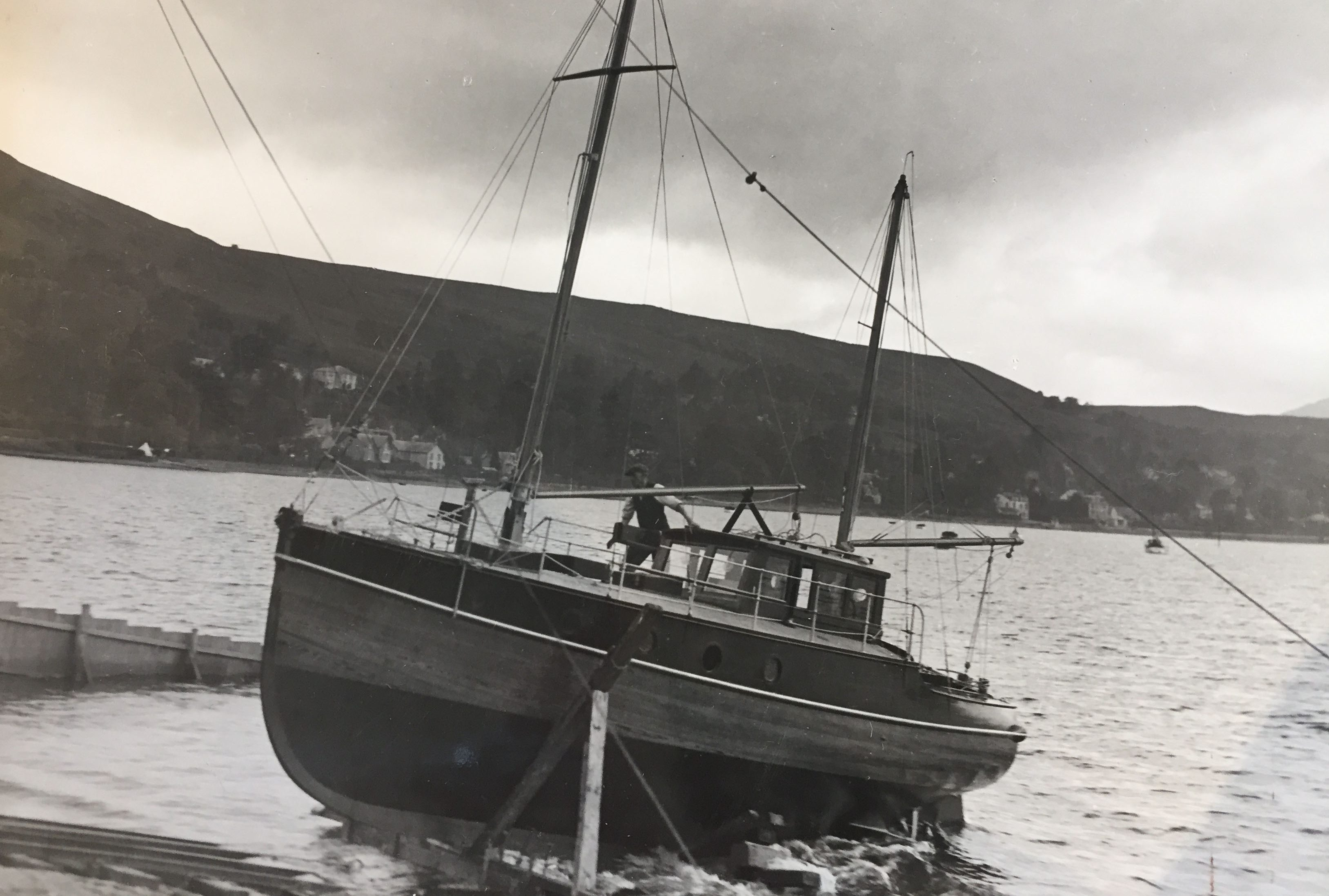 Downside Catholic School Archive Photos - Boat