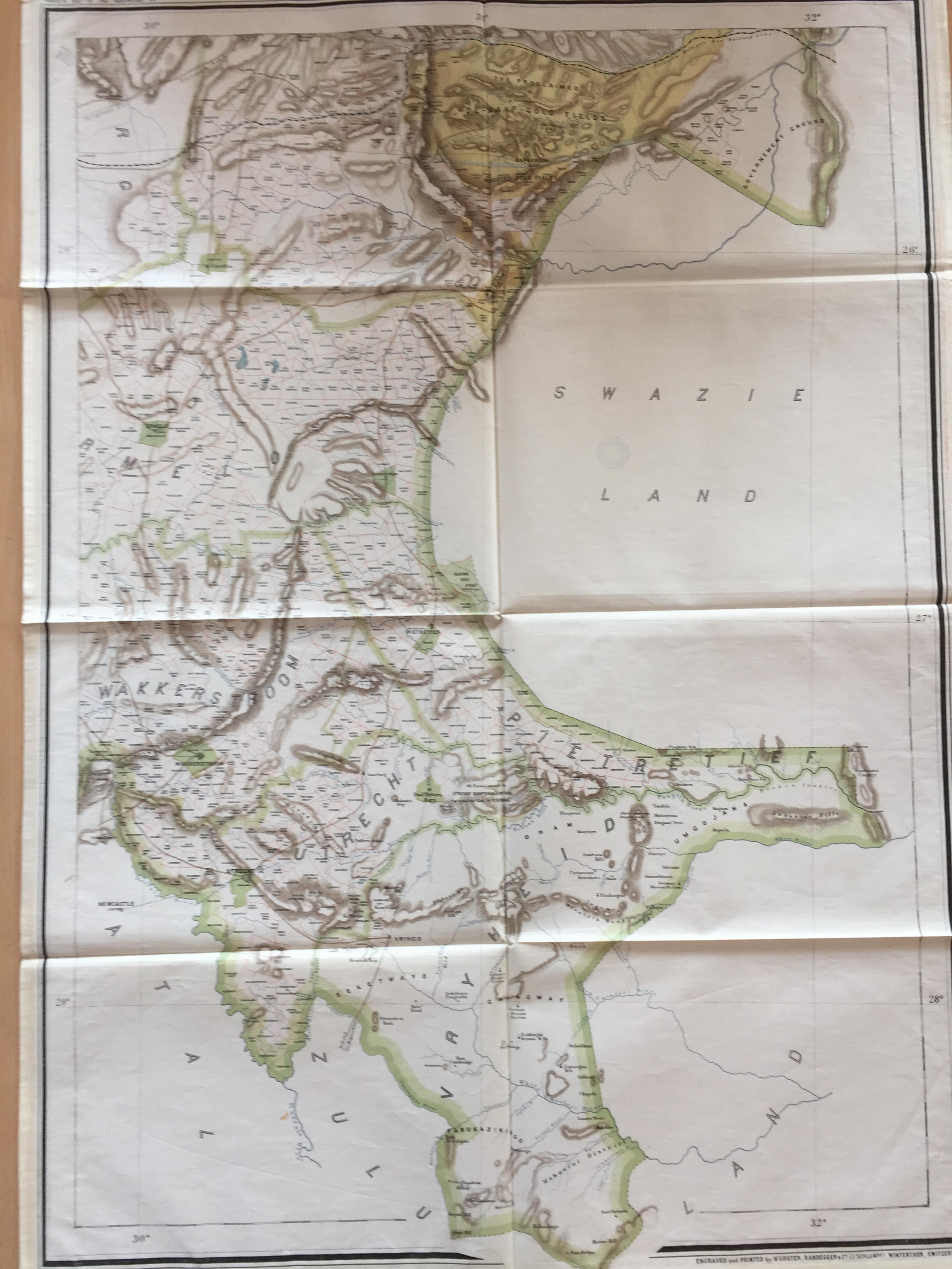 Downside Archive Collections South African Maps