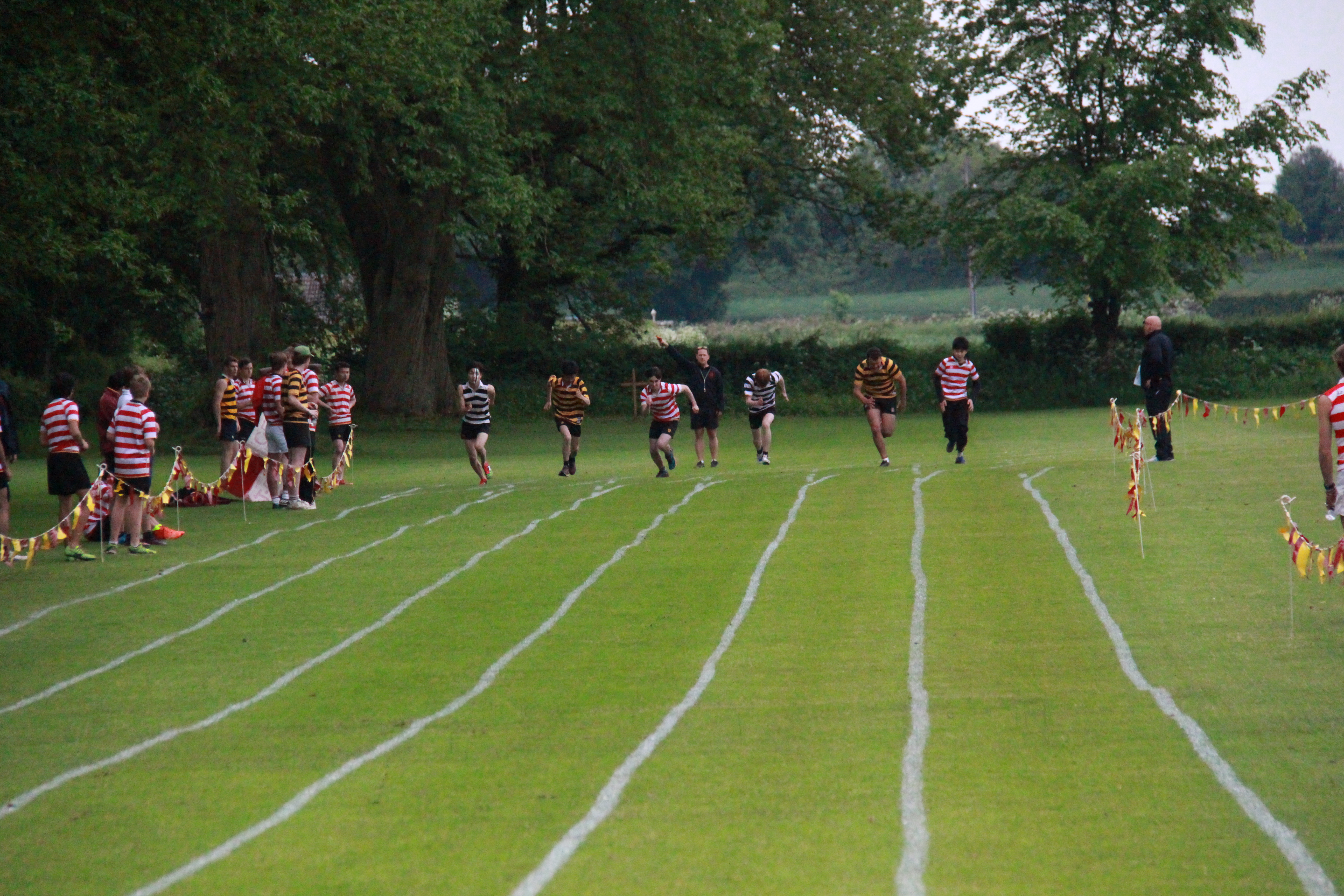 Running at sports day 2018