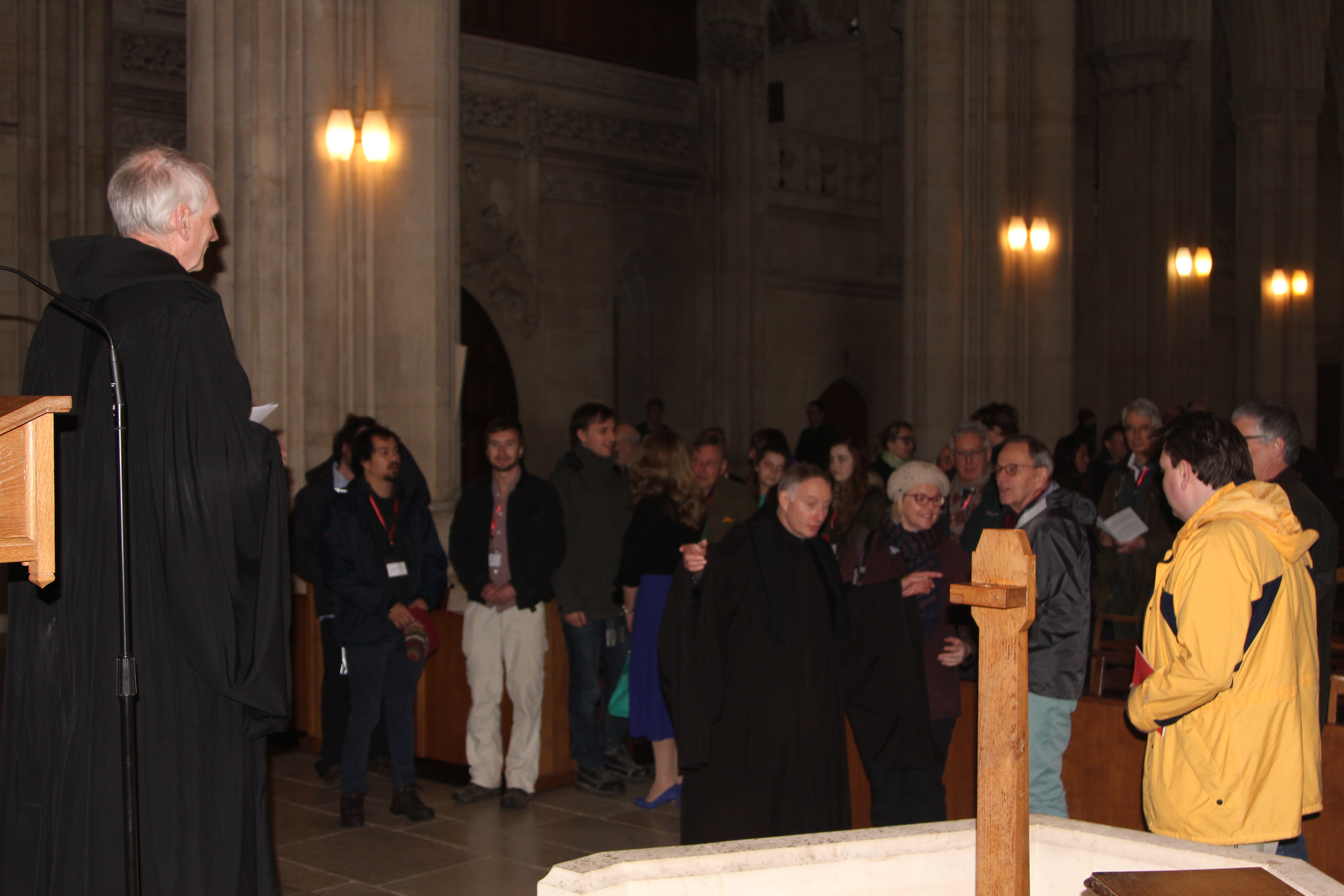 Easter at Downside Abbey