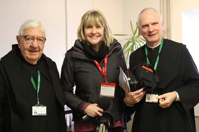 BBC Radio Somerset presenter and monks