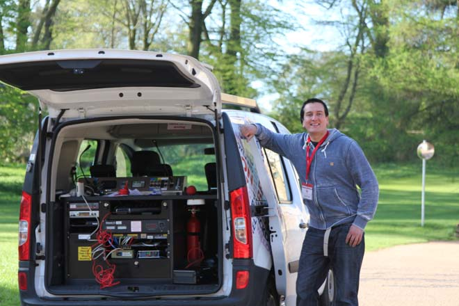 BBC Radio somerset van and man