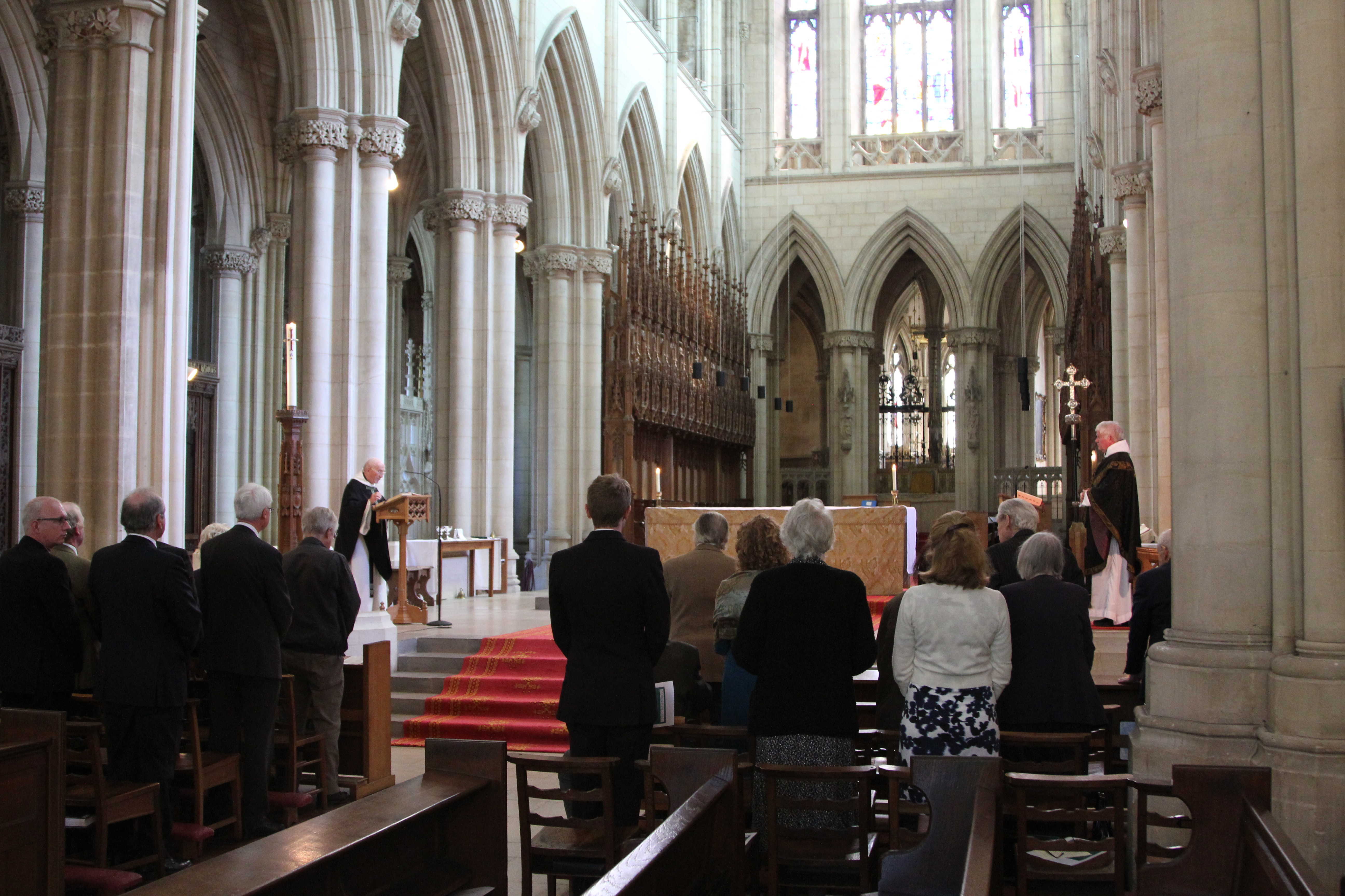 Memorial ceremony in Abbey