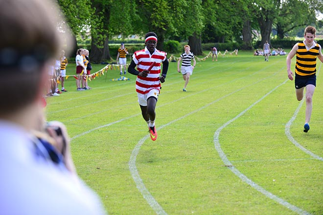 Downside School Sports Day