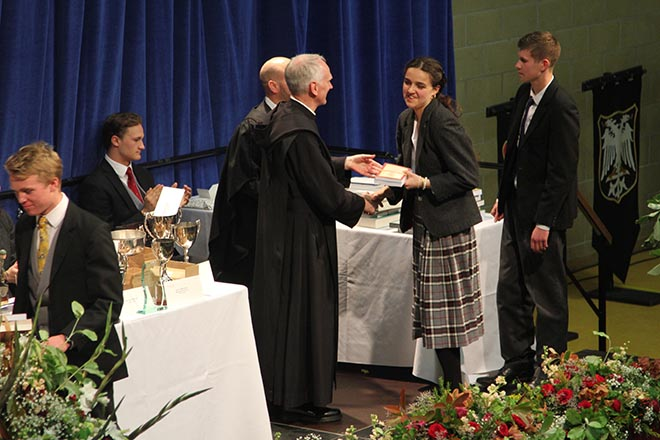 Prize Day Celebrated at Downside