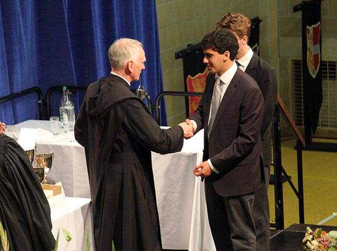 Catholic School Prize Day