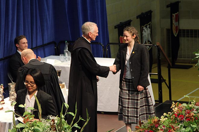 Downside School Awards Ceremony