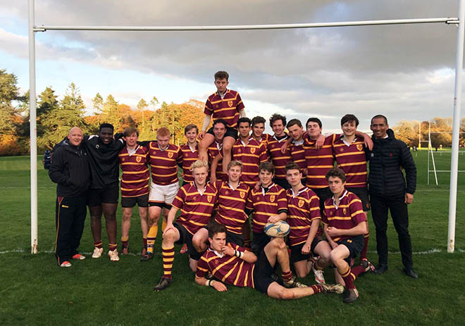 Downside School Rugby team