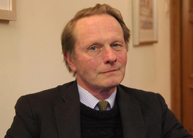 Adrian Aylward is the Chair of Governors at Downside School.