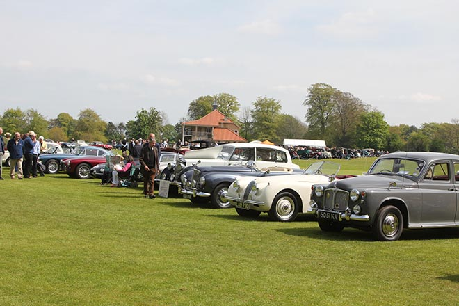 Classic Cars Return to Downside School