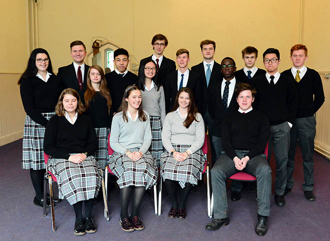 A number of senior pupils have taken part in an academic enrichment programme to develop their interview technique.
