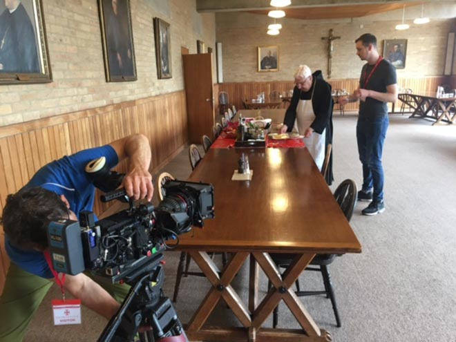 BBC Monks Feature at Downside Abbey