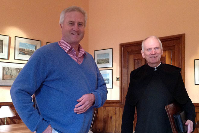 Guy Yeomans visits Downside