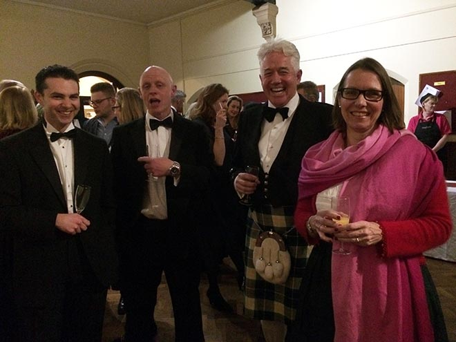 Burns Night at Downside