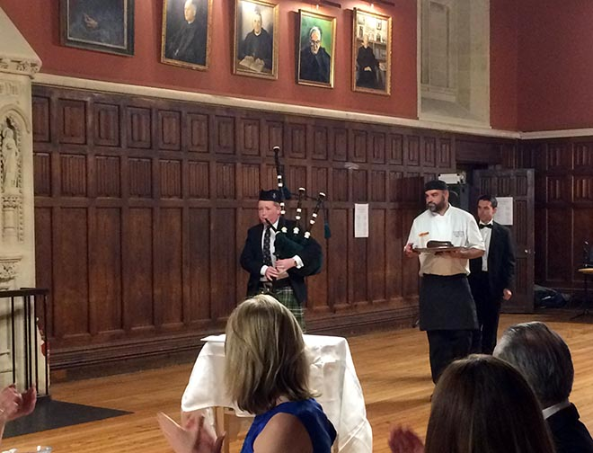 Bagpipe Burns Night
