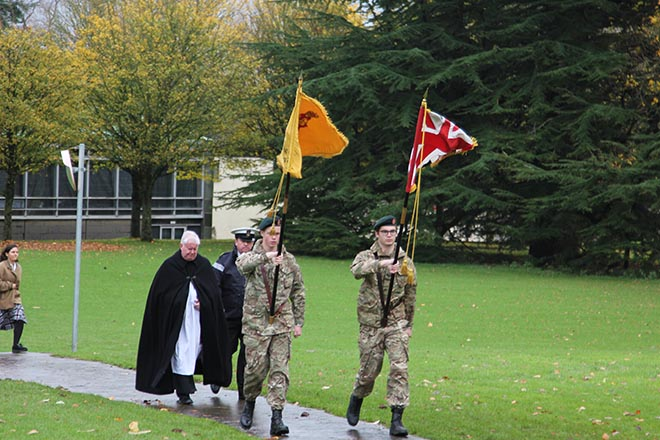 Downside Catholic School Remembrance Day