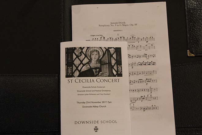Downside Catholic School St Cecilia Concert