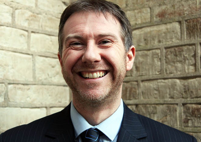 Ian Ramsden is looking forward to helping pupils engage with computer science and coding.