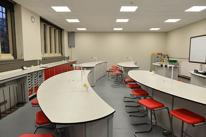 Pupils and staff are delighted with the new spaces